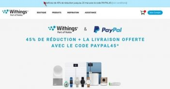 Withings, PayPal, PayPal45