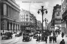 Marseille, la Canebière